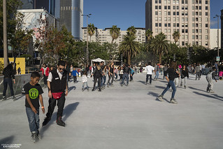 Pershing Square Ice Skating