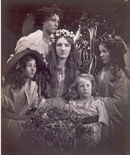 'May Day', Julia Margaret Cameron, 1866, c Victoria and Albert Museum, London
