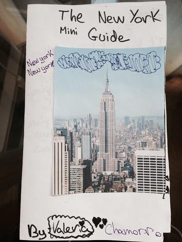 Mini Guía de Nueva York, Valeria Chamorro