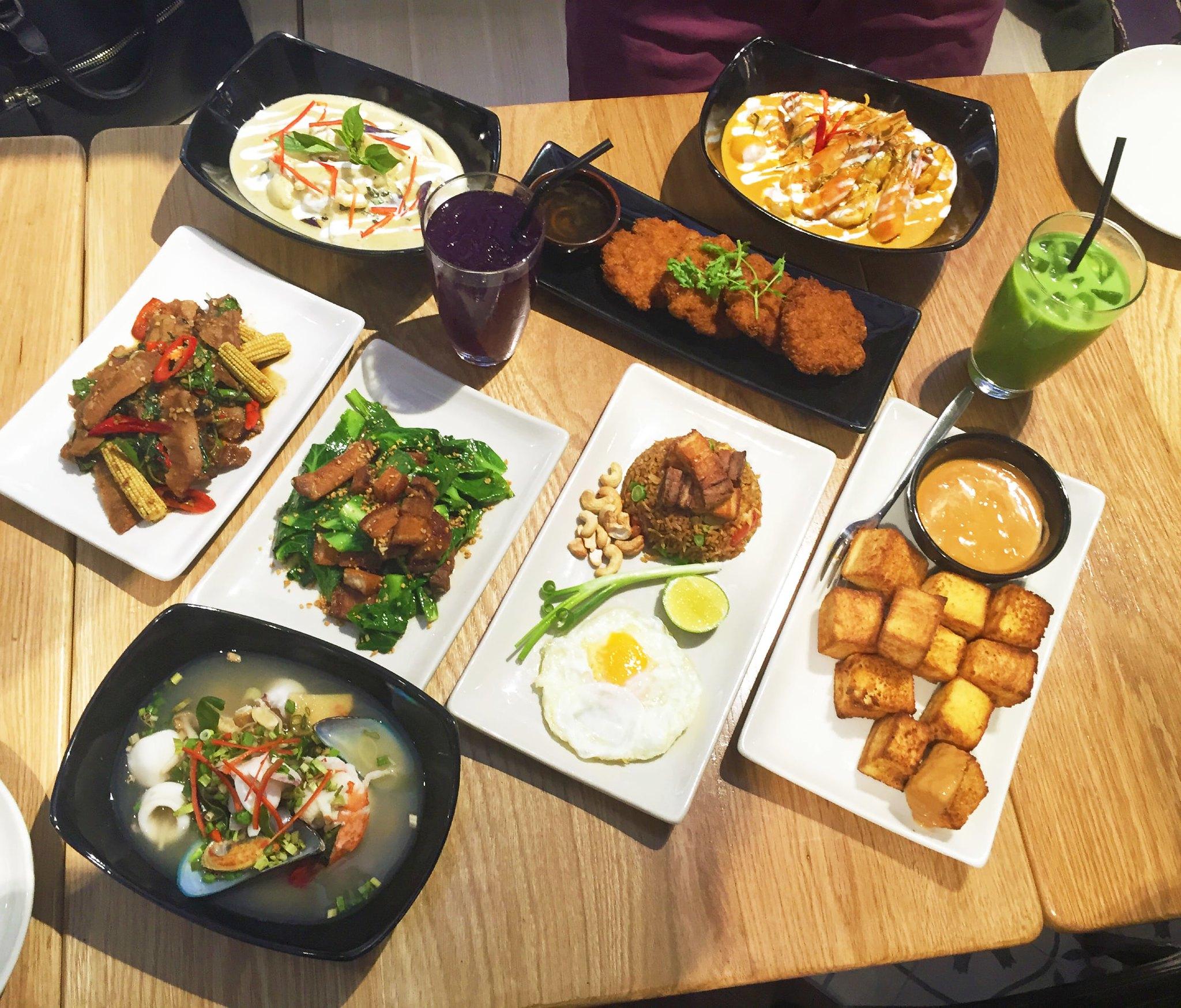 Thai Food Menu List