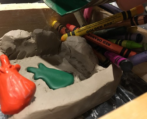 Family Workshop: Recycled Crayon Casting