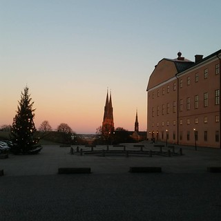 Image of Uppsala slott near Helga Trefaldighet. square squareformat iphoneography instagramapp uploaded:by=instagram