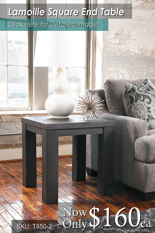 Lamoille Square End Table