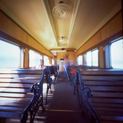 Pinholers on a train