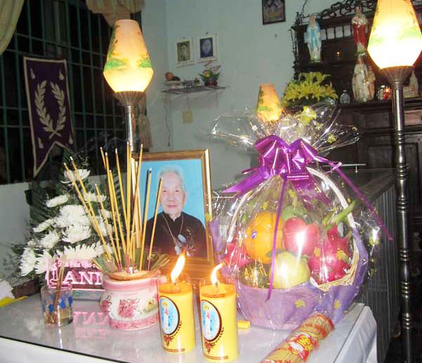 Tin buồn: Thân mẫu Chị Matta Mặc Linh đã qua đời