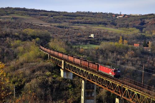 freight 461156 ralja belgrade railway bridge trainspotting