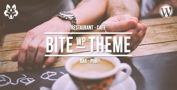 Bite v1.6.5 - Professional Restaurant WordPress Theme