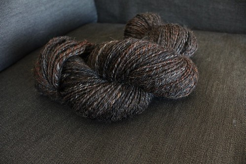 Fiber Optic Yarns - Black Coffee