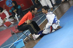 M. Hafidz with coach Doni Yudaka