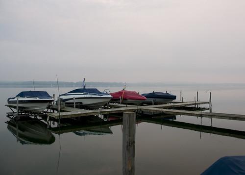 morning blue red summer vacation lake ny newyork water glass fog sunrise boats boat dock nikon august calm handheld nikkor amateur tranquil placid boatdock chautauqua 2015 18200mm d90 lakechautauqua chautauquacountyny