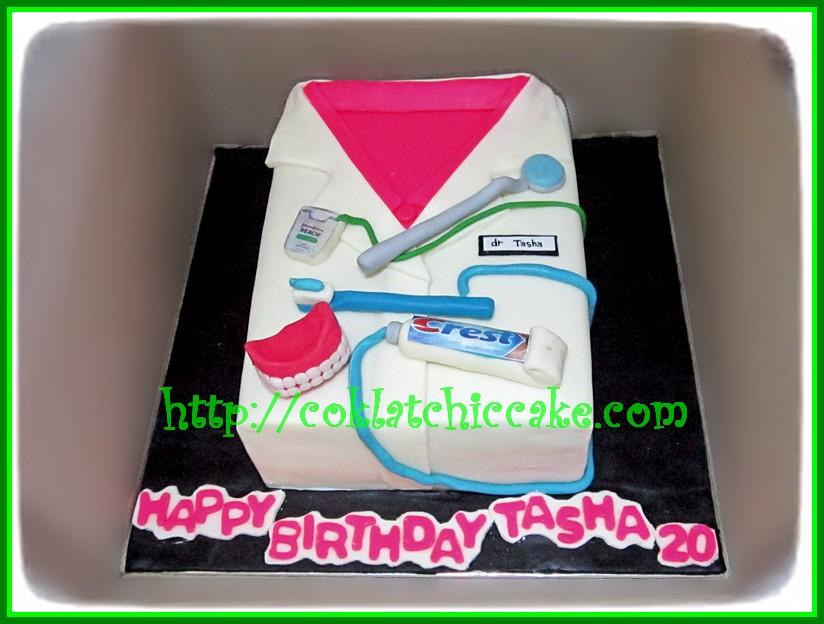 Cake Dokter Gigi Tasha Jual Kue Ulang Tahun