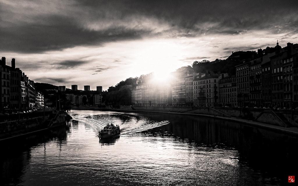 La Sâone à Lyon