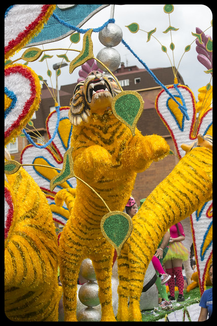 Gala Floral, Fiesta Virgen Grande Torrelavega