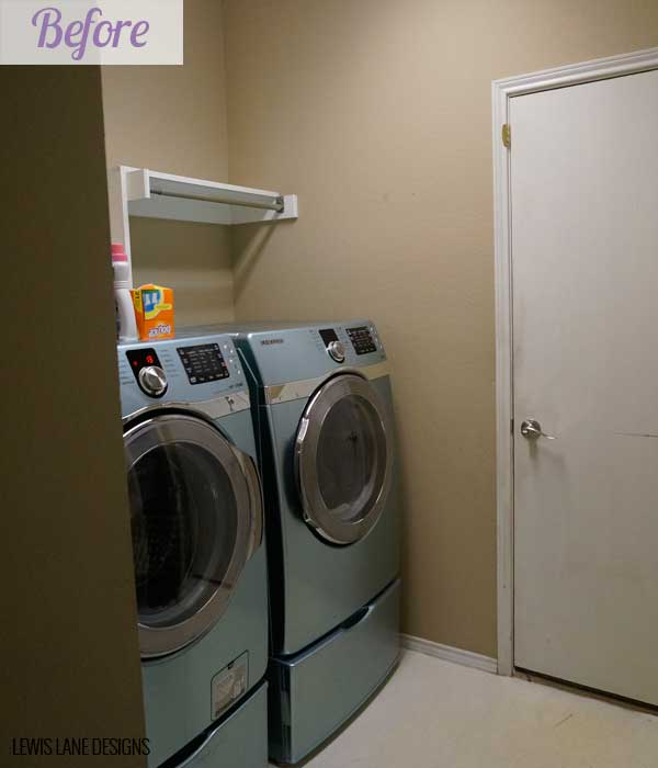 Laundry Room Before by Lewis Lane