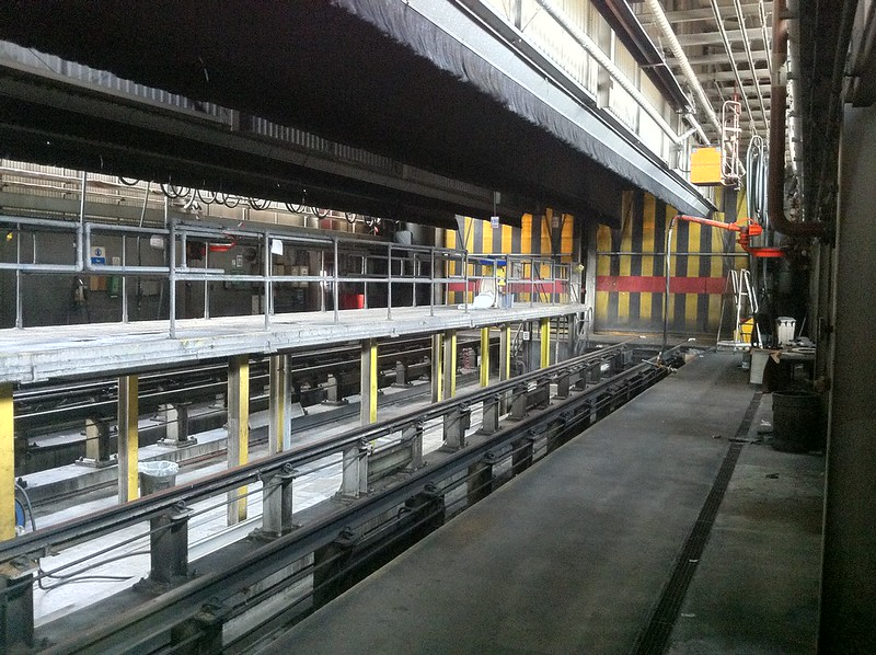 Disused Railway Maintenance Depot
