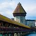 Kapellbrücke in Lucerne by Greg @ Montreal
