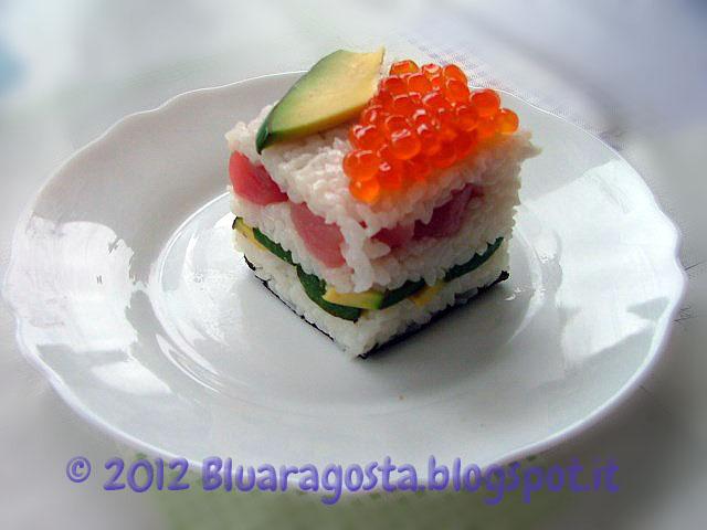 02-mini sushi cake