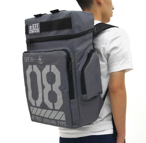 《機動戰士鋼彈 第08MS小隊》 陸戰型主題 大容量後背包!