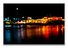 Nocturna playa Arenal Xàbia