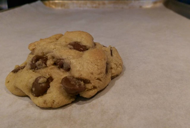 Today, my chocolate chip cookie game is on point!