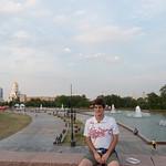 Claudio en el parque Pobedy (de la victoria)