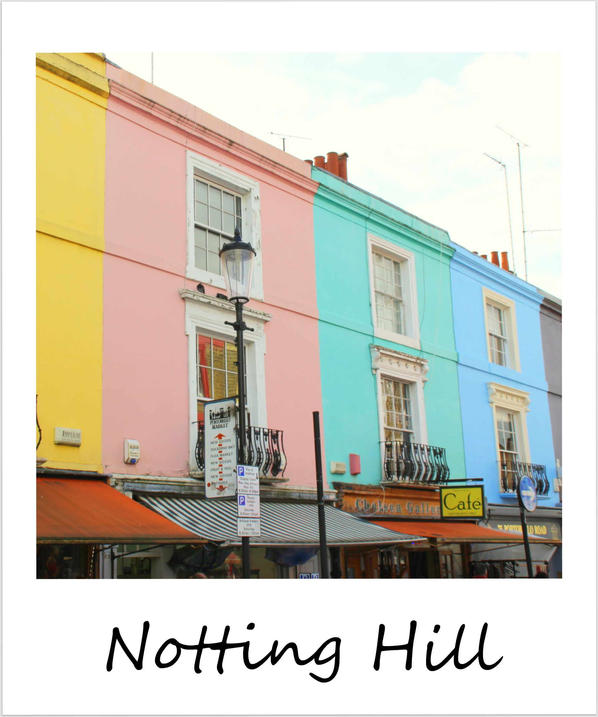 polaroid of the week england london notting hill