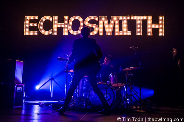 Echosmith @ Hammerstein Ballroom, NYC 9-16-2015-1
