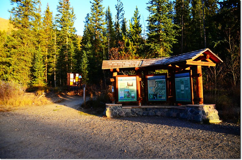 Herman Gulch Trailhead