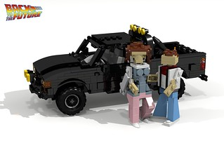 Toyota Hilux 4x4 Pickup (Back to the Future I & II)