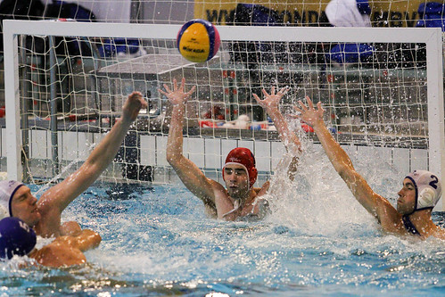 Waterpolo DZK 2 vs  Nuenen 2<br/>13 foto's