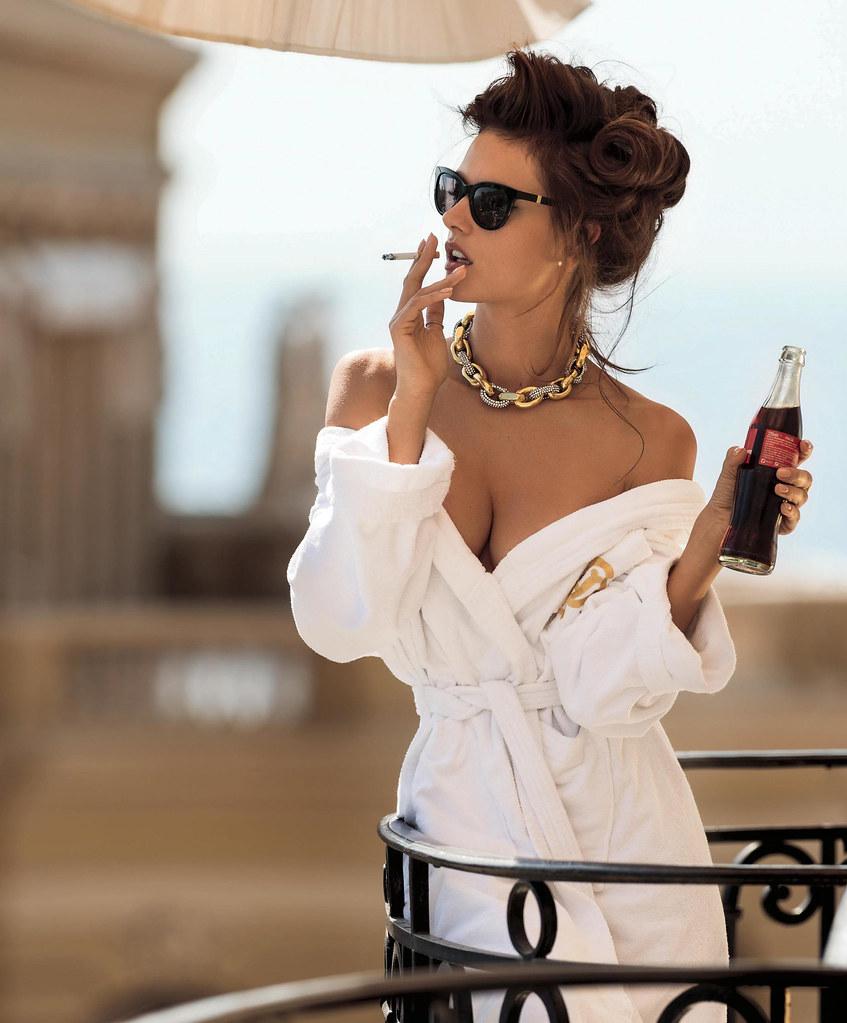 Алессандра Амбросио — Фотосессия для «Maxim» 2015 – 5