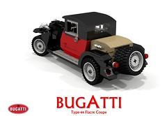 Bugatti Type-44 Fiacre Coupe (1929)