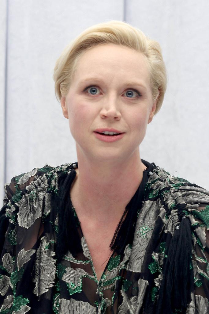 Гвендолин Кристи — Пресс-конференция «Звёздные войны» 2015 – 14