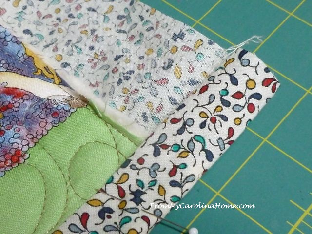 Baby quilt 6