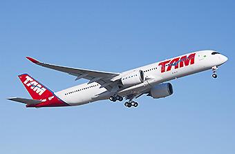 TAM A350-900 climbing (Airbus)