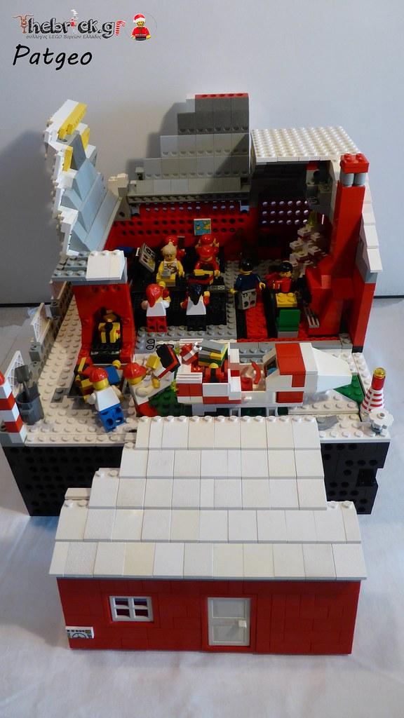 "[BuildtheBrick #2]: ""Santa's Workshop"" 23550969611_4b9a98b70b_b"