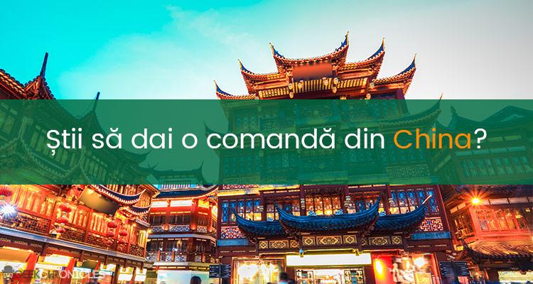 comanda china