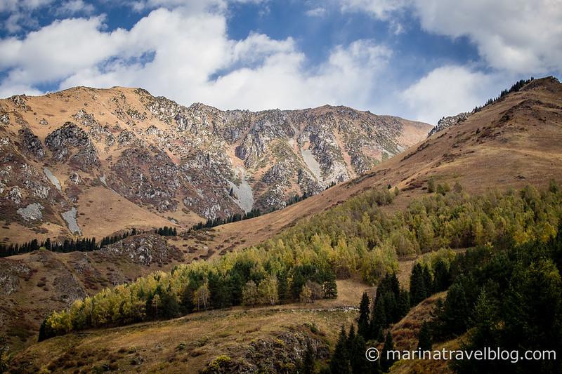 Каазахстан горы