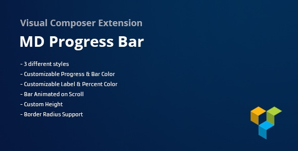 Codecanyon MD Progress Bars for Visual Composer v1.0