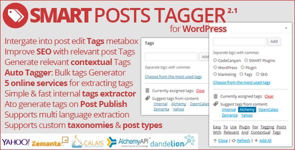 Codecanyon Smart Posts Tagger v2.1