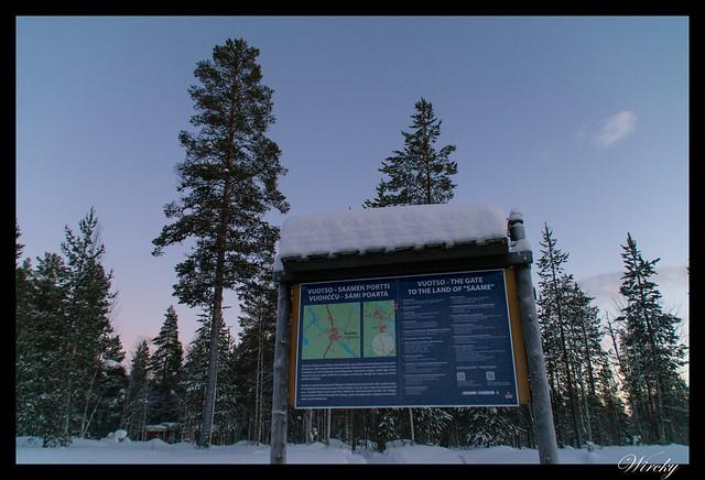 Laponia Tankavaara aurora boreal - Vuotso, puerta de la tierra Sami