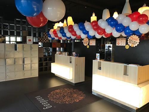 Ballonslinger Restaurant Vandaag Amsterdam