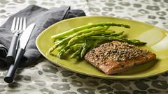 Acorn Crusted Salmon