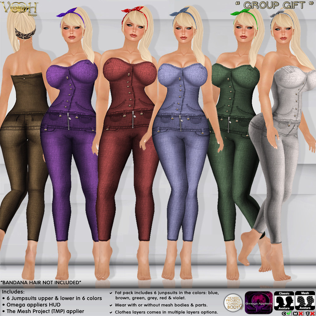 """ VOOH "" -  GROUP GIFT 56 - SecondLifeHub.com"