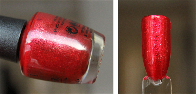 OPI fire escape rendezvous swatch