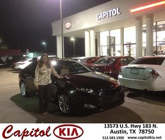 #HappyBirthday to Julia from Brian Miller at Capitol Kia!
