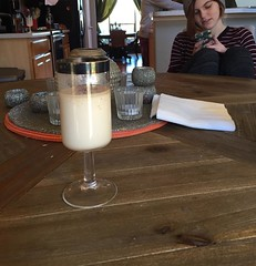 Starting the day off with Southern Comfort Eggnog  #thanksgiving #colorado #friends #family