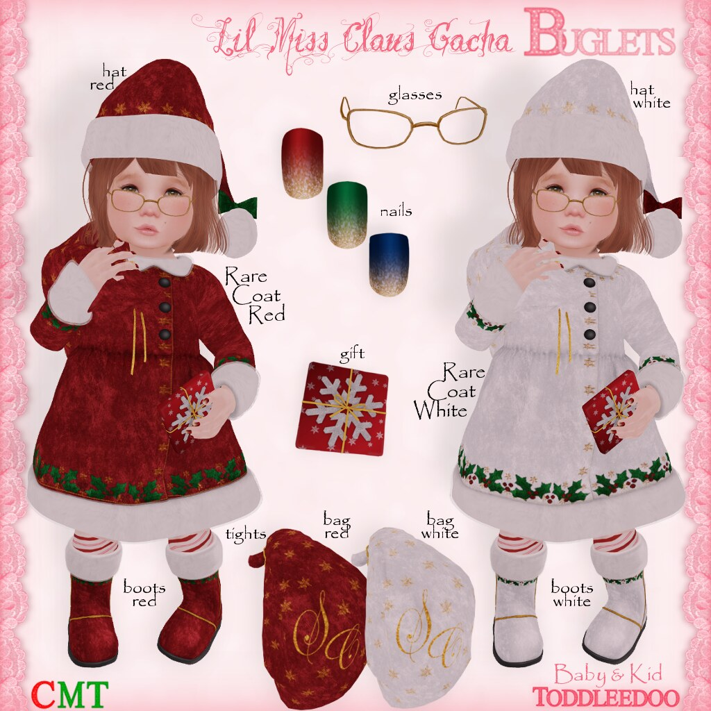 TD Lil Miss Claus Gacha AD - SecondLifeHub.com