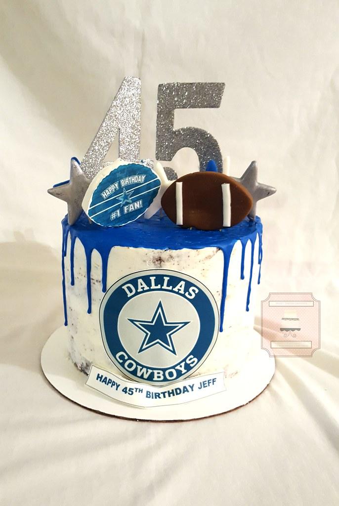 Dallas Cowboys 45th Birthday Cake