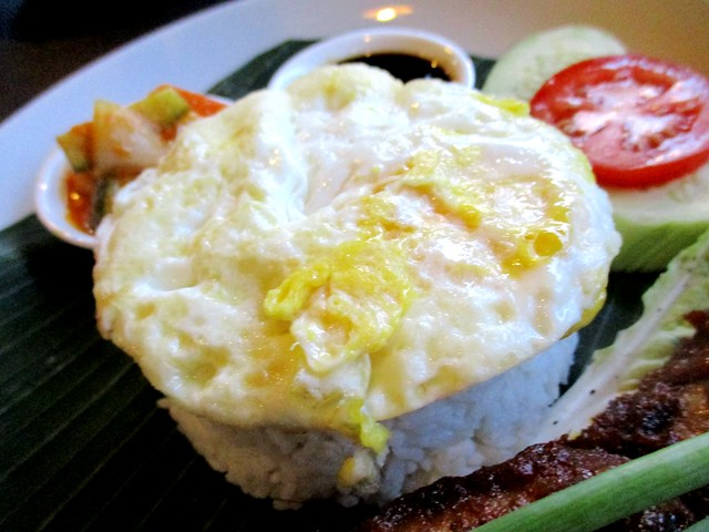 Cafe Ind fried egg